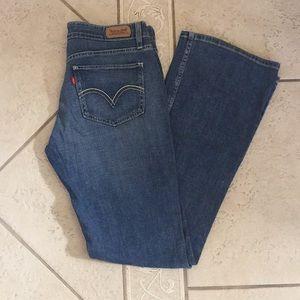 Levi's Superlow 518 Lightwash Flare Jeans